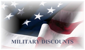 Discounts for Military Personnel and Family Members - Courtesy of Warner Robins Real Estate