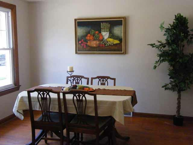 1930 dining room after