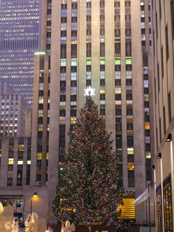 Christmas Tree Rockefeller Center 2012