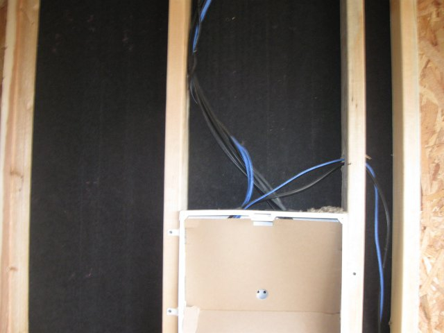 how to run cat5 cable through walls