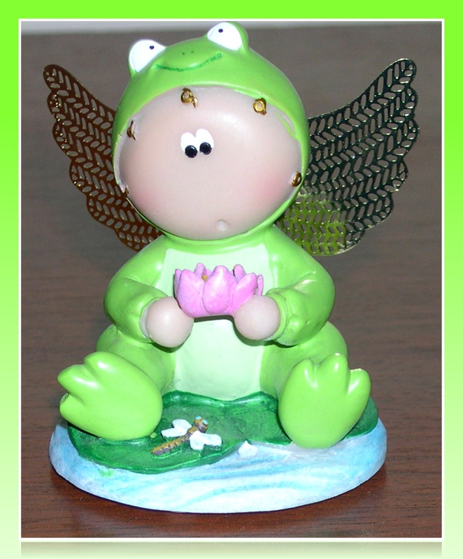 frog, a guardian angel