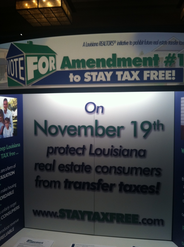 STAY TAX FREE AMENDMENT FOR LOUISIANA