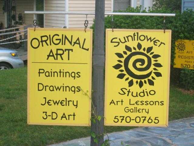 Sunflower Studio Wake Forest NC