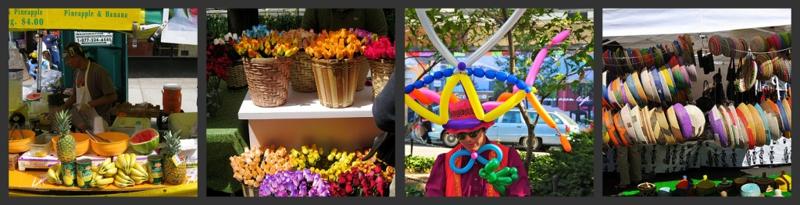 Street Fair Collage photos by Ed Yourdan