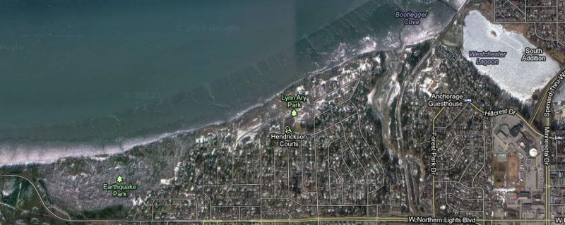 Turnagain Homes Neighborhood in Anchorage AK