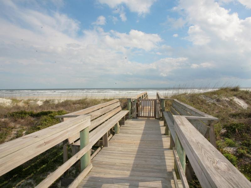 Beach Home St. Augustine dune walkover