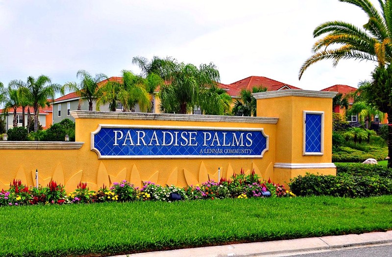 real estate for sale in paradise palms resort kissimmee