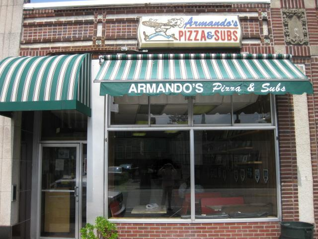 Armando's Pizza in Cambridge MA