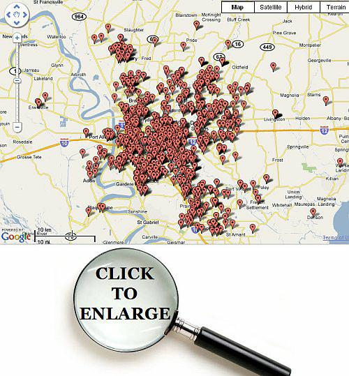 real estate agent geographic competency map