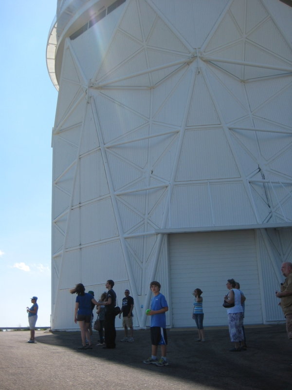 Telescope tour at Kitt Peak National Observatory