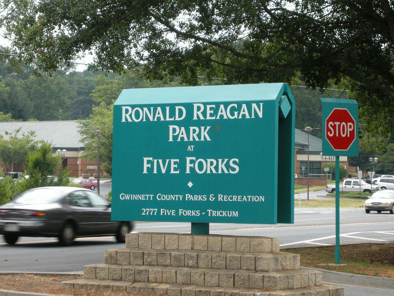 Ronald Reagan Park at Five Forks in Lilburn