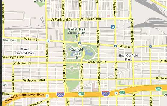 Garfield Park Chicago Map.One Favorite Area For Armchair Investors East Garfield Park