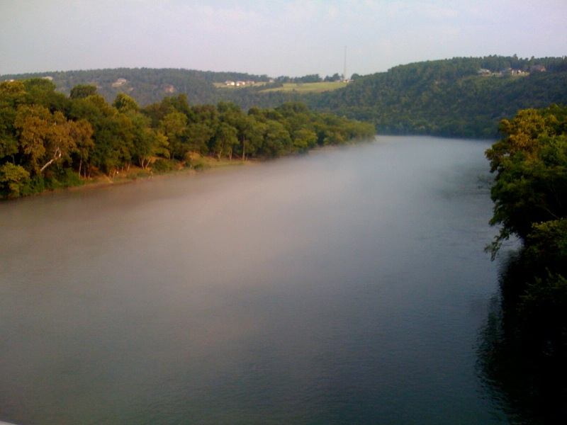 Fog on The White River