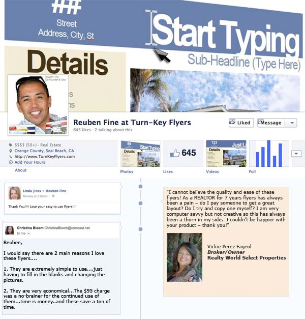 how to create a website for my fb page