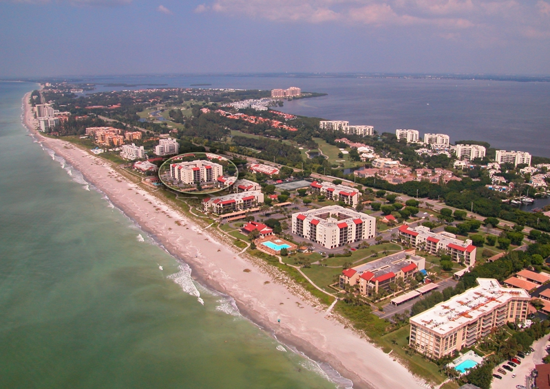 Aerial View of Seaplace Longboat Key