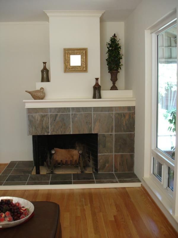 Corner Fireplace Ideas Native Home Garden Design