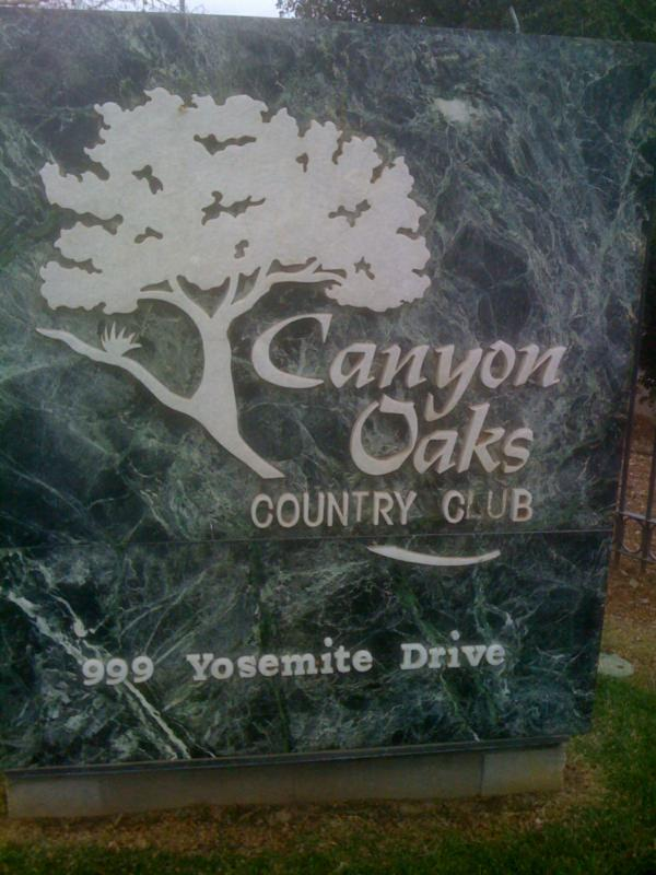 canyon oaks golf and country club