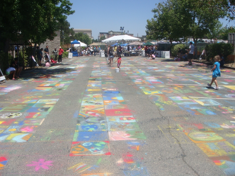 Old Town 2010 Temecula Street Painting Festival