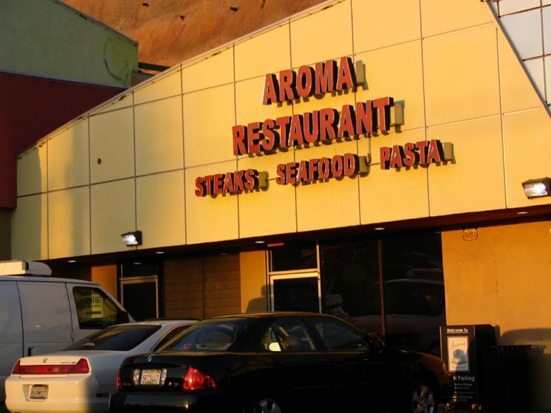 Aroma Restaurant in Silver Lake