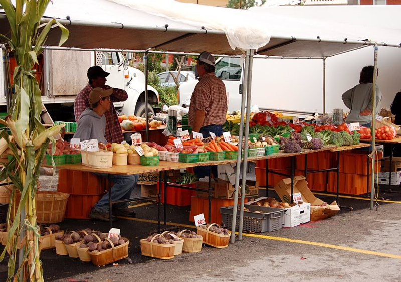 farmers' market on ottawa street