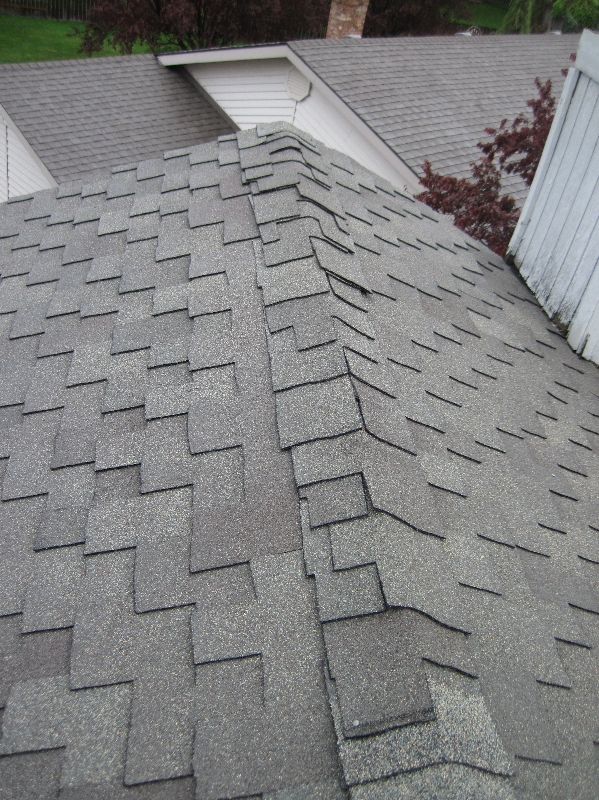 Improper Ridge Shingles