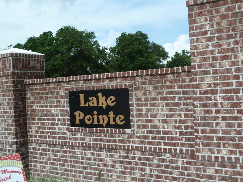 Lake Pointe Subdivision in Lake Charles LA