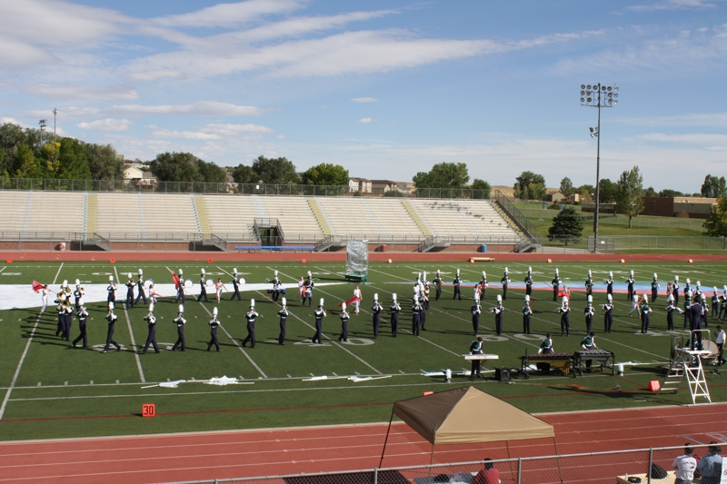 Academy District 20 Schools Compete in the High School Marching ...