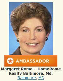 Margaret Rome, author of Real Estate the Rome Way