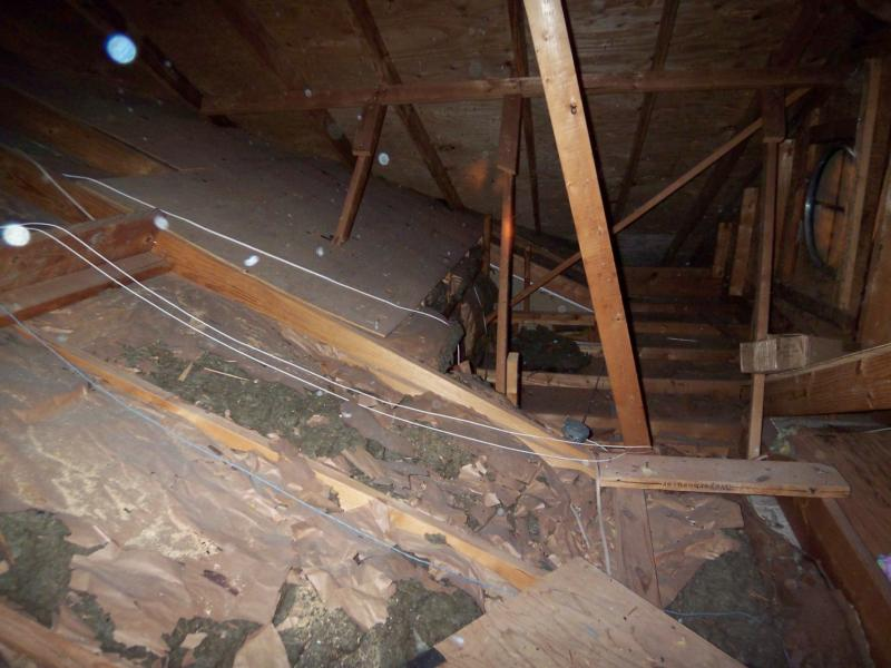 Poorly Insulated Attic