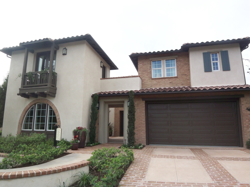 Model home at Viridian in La Costa Greens in Carlsbad CA