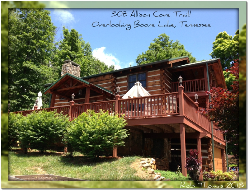 Amazing Log Homes For Sale In Tennessee