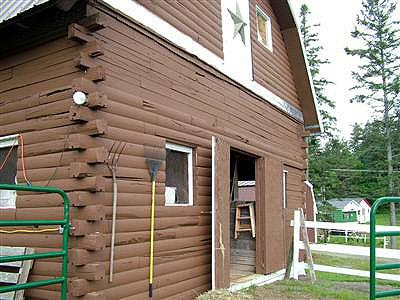 Dream Of Having Horses? Maine Farmette On Brook With Barn ...