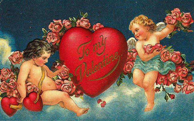 Vintage Valentines Day Cards – Vintage Victorian Valentine Cards