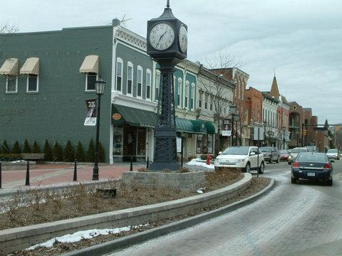 Downtown Northville Michigan