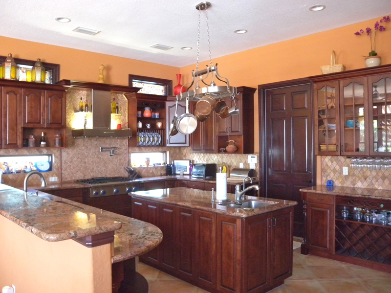 waterfront home for sale kitchen
