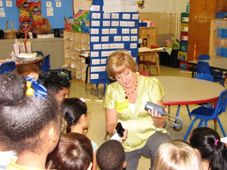 Sally English at Midvale Elementary School