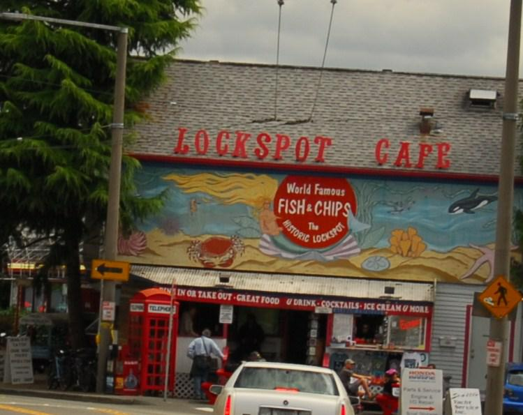 The lockspot cafe in ballard perfect after visiting the for Fish and chips ballard