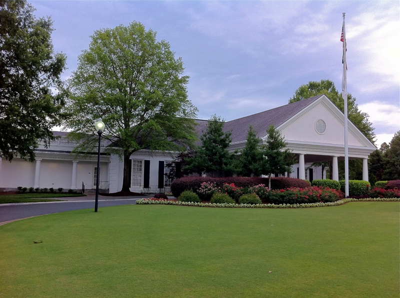 Providence Country Club clubhouse
