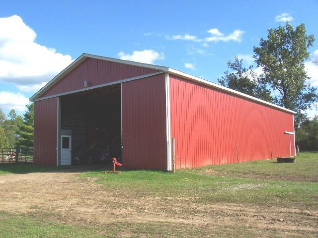 Southeast michigan hunting property farm for sale 6830 for 40x80 pole barn