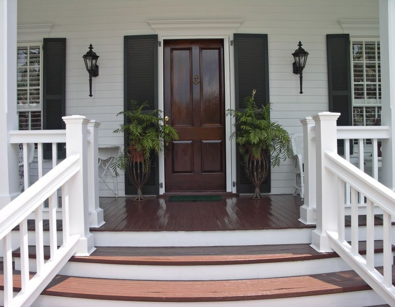 Front Door to a Home