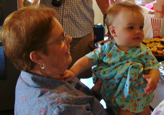 Maxine and Great Granddaughter Maxine