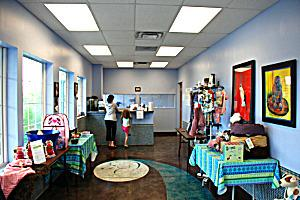 K9 Design Dog & Cat Grooming reatail area