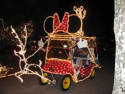 how to decorate your golf cart with christmas lights - Golf Cart Christmas Decorations