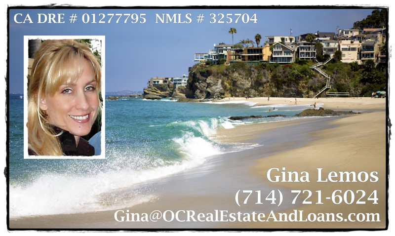 Virtual Business Card for Gina Lemos, Orange County Realtor