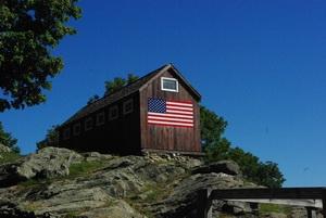 Roxbury CT Town Line Barn