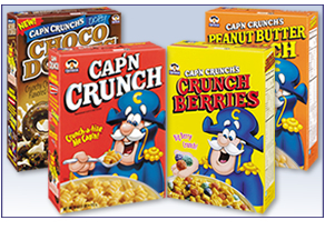 Captain Crunch cereal