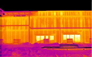 Salt Lake City Commercial Building Infrared Inspections