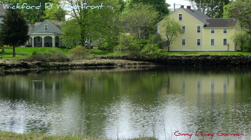 Wickford RI Waterfront View