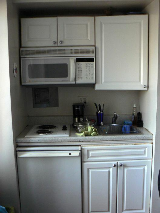 Very Small Kitchen Design Ideas: Feng Shui New York City Studio: Working In VERY Small