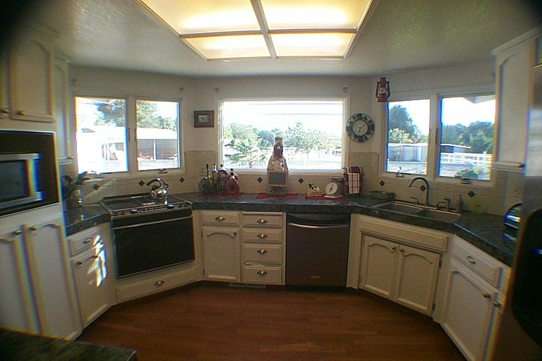 Gourmet Kitchen, Triple Anderson Windows